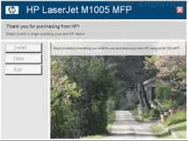 HP LaserJet M1005 install