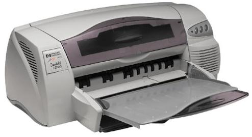 HP DeskJet 1220C Printer driver Download Guide