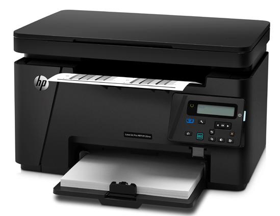 HP LaserJet Pro MFP M126nw printer clip