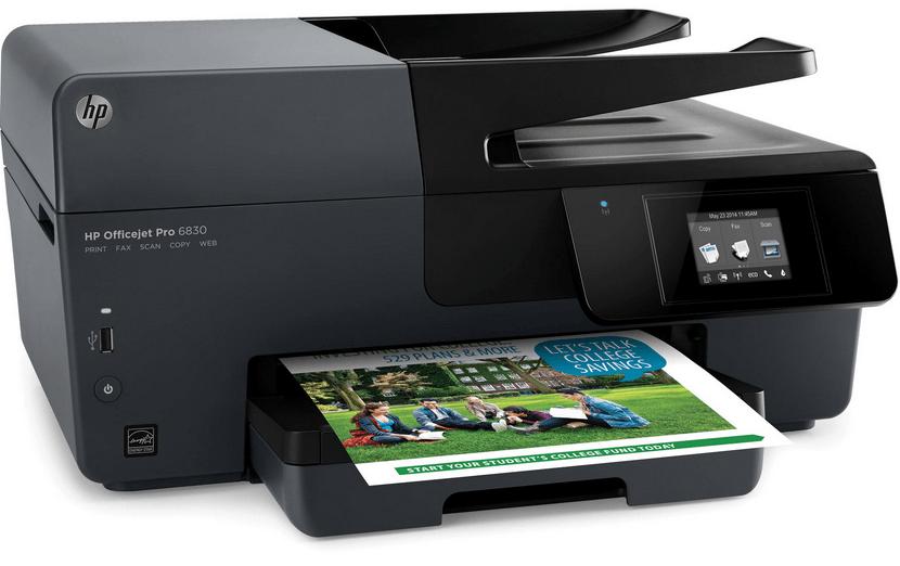HP officejet Pro 6830 Printer screenshot