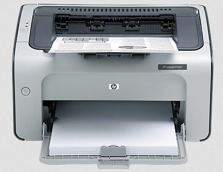 HP LaserJet P1007 Printer Image