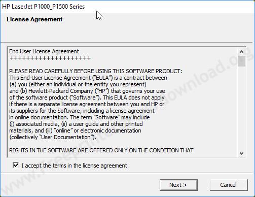 hp laserjet p1007 user agreement