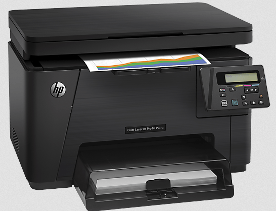 HP Color LaserJet Pro MFP M176n Printer Screenshot