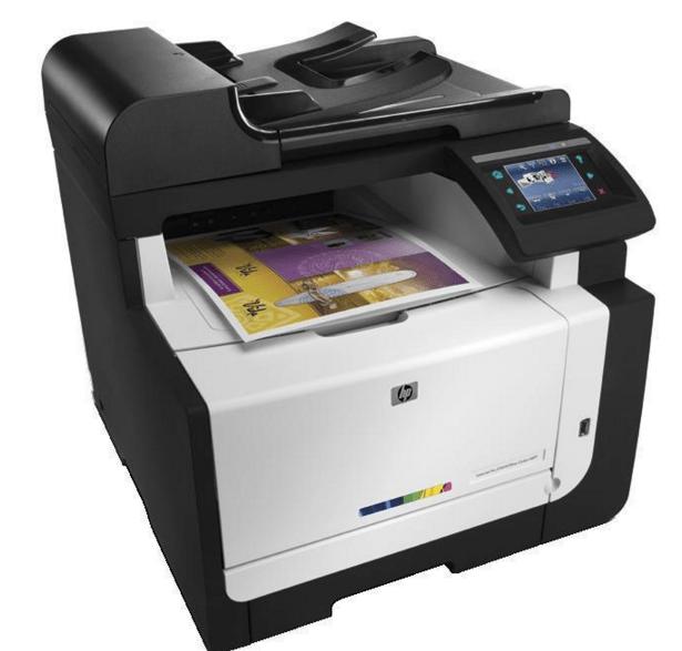 HP LaserJet Pro CM1415fnw Printer Snapshot