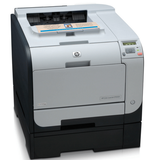 HP Color LaserJet CP2025 Printer Driver Download