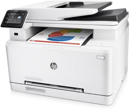HP Color LaserJet Pro MFP M277dw Printer Snapshot