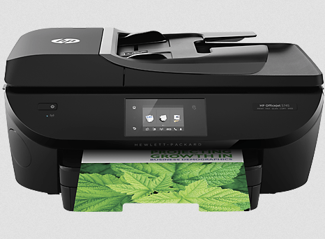 HP Officejet 5745 all-in-one printer snapshot