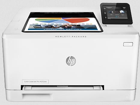How to download HP Color LaserJet Pro M252dw Driver