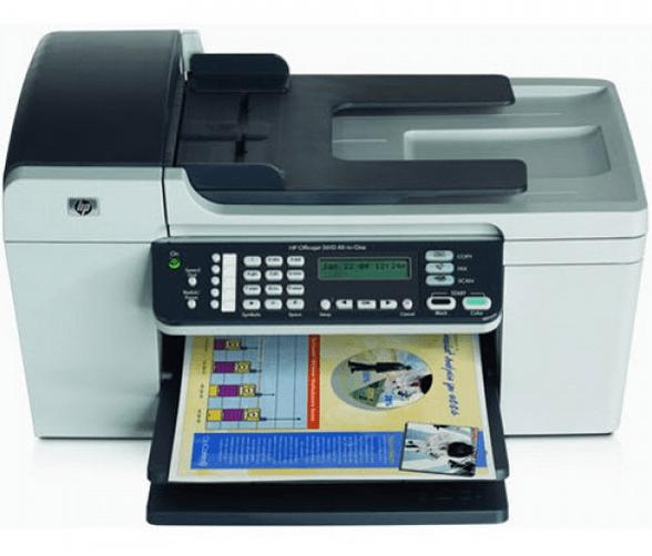 HP OfficeJet 5610 Printer