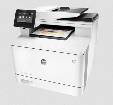 HP LaserJet Pro MFP M477fdn Printer