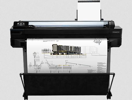 HP DesignJet T520 36-in Plotter