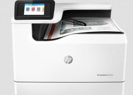 HP PageWide 750dw Printer