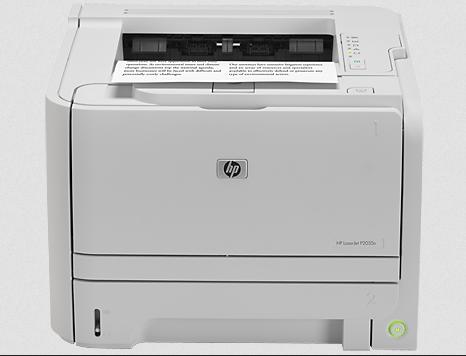 Install hp laserjet P2035n printer driver