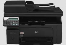 HP laserjet M1217nfw Wireless Driver