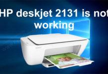2131 printer not working