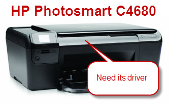 Need HP Photosmart C 4680 driver