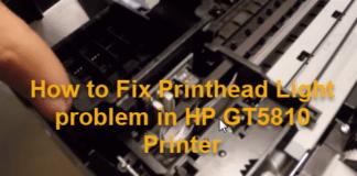 printhead problem