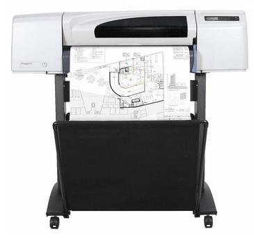 HP 510 plotter