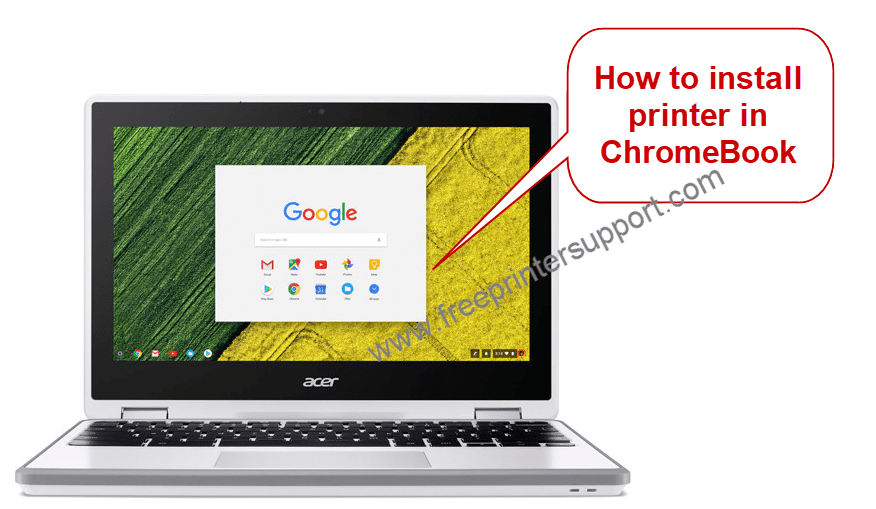 how to printer driver in chromebook
