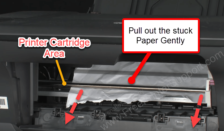 check ink cartridge store area