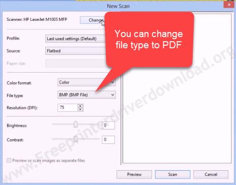 chnage file type to pdf