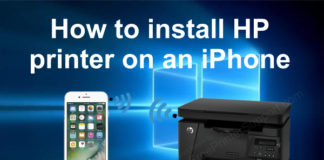 install hp printer on iphone thumbnail