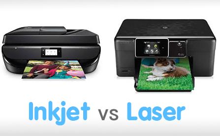 Laser vs Inkjet