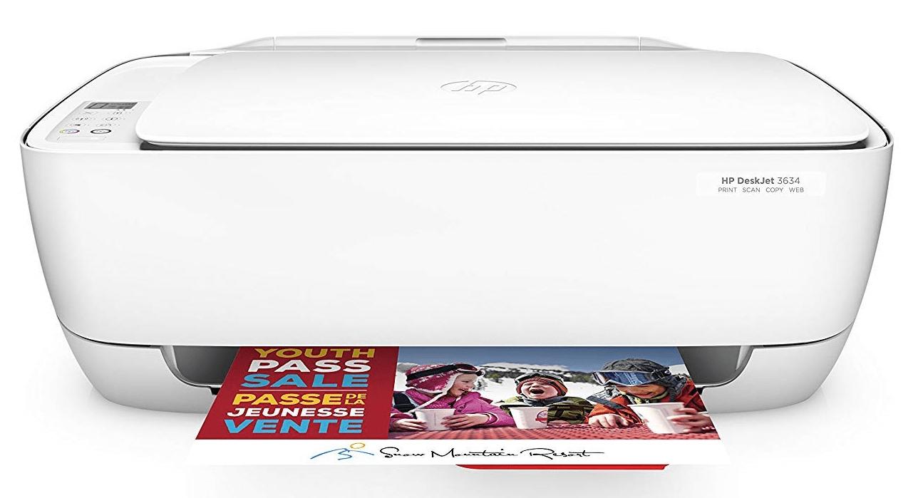 HP DeskJet 3634 printer driver