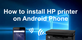 set up hp printer on android cover image