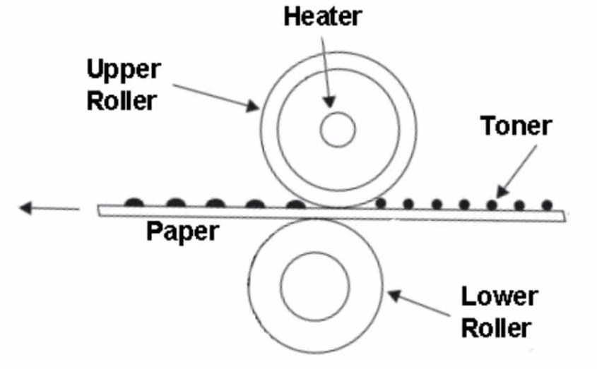 fuser diagram