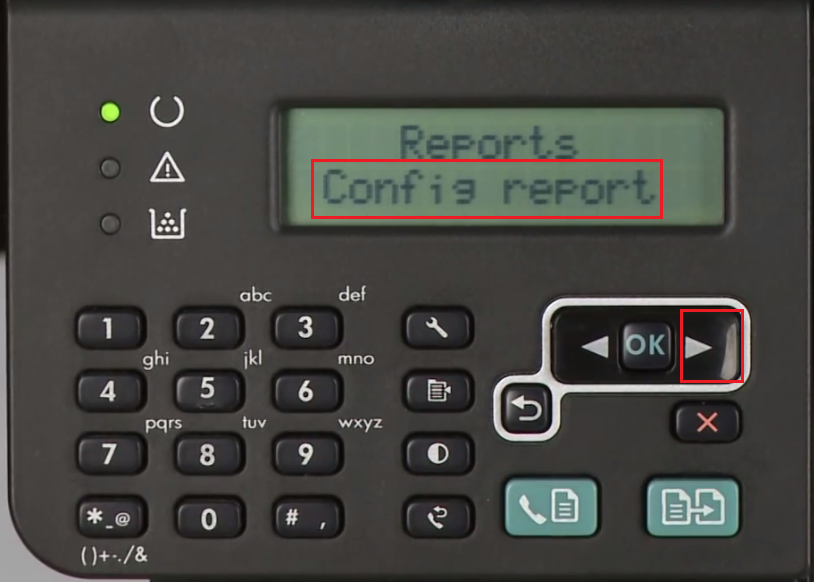 config report