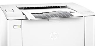 HP Laser Jet Pro M104a