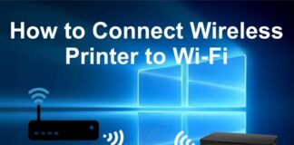 connect printer to router
