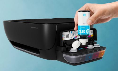 HP InkTank 410 refilling ink