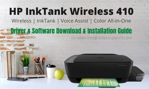 HP InkTank Wireless 410 driver