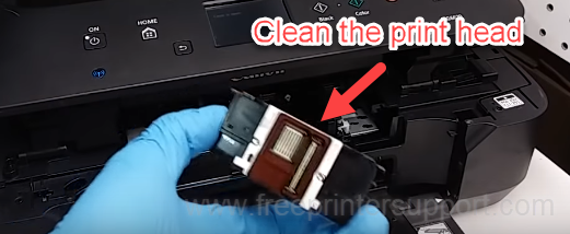 clean the print head