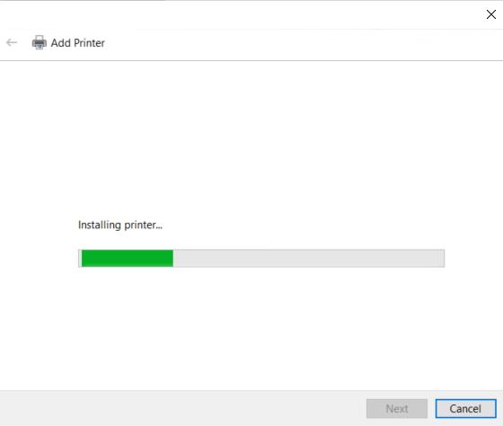 printer install