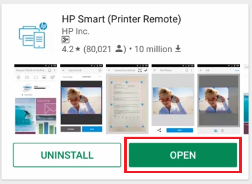 open app