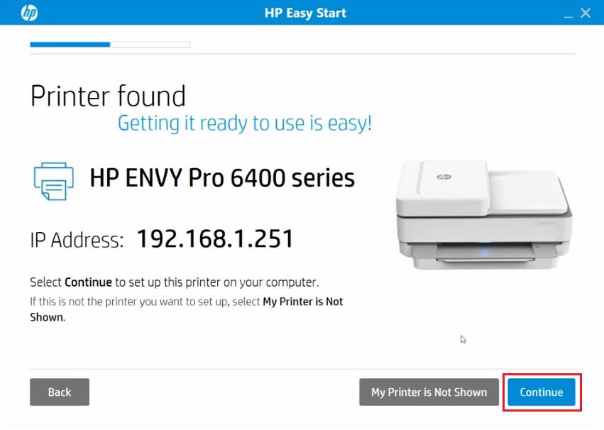 found printer