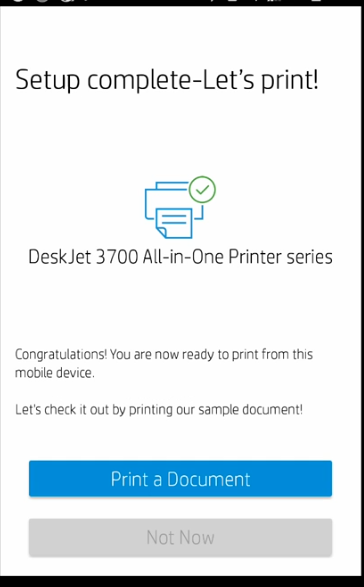connected printer