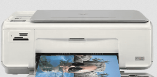 HP Photosmart C4205 software