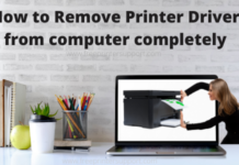 How to Remove Printer Driver from computer completely