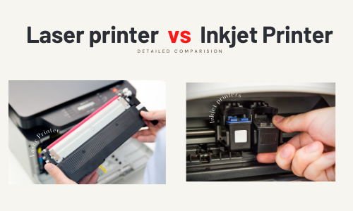 Laser printer vs Inkjet