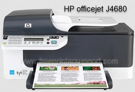 hp officejet j4680 driver
