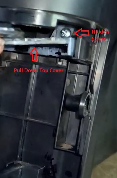 screw hidden