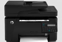 HP Laserjet Pro MFP M127fs Printer