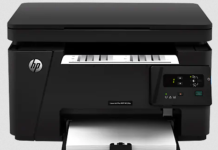 HP Lasers Pro MFP M126A Printer